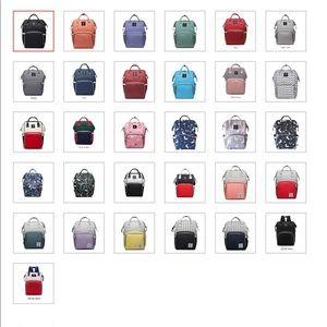 Handbags - Backpack diaper bags